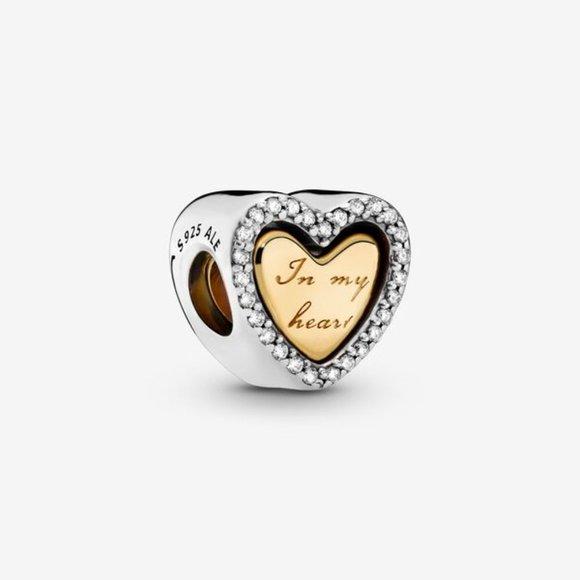 Pandora Jewelry - Pandora  In My Heart Split Heart Charm